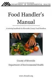 food handler exam study booklet