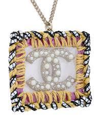 chanel vintage cc logos imitation pearl