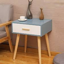 mojbu storage small cabinet white wood