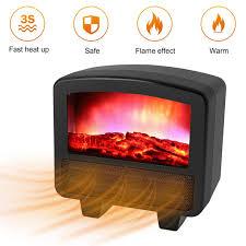 wall flame heater us eu uk plug