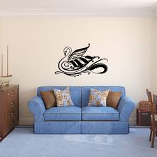 The Dreams Swan Wall Decals Smiley Decalz
