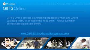 gifts grants software microedge