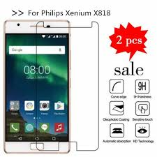 For Philips Xenium X818 Tempered Glass ...