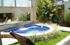 Backyard Ideas With Pool View In Gallery Design For Small Patio Landscaping Home Elements And Style Fence Playground Pallet Rock Garden Crismatec Com