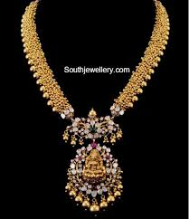 antique necklace with flat diamond