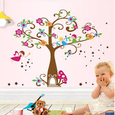 Little Elf Magic Tree House Wall Decal Stickers Decor For Kids Room Nursery Playroom Home Decorative Mural Art Stickers Wall Decals Home Decor Wall Decals Kids From Magicforwall 5 26 Dhgate Com