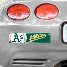 Official Oakland Athletics Car Decals A S Auto Truck Emblems Mlbshop Com