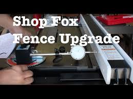 Unisaw Fence Upgrade Jet Lock To Shopfox W2005 Informational Youtube