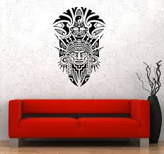 Wall Decal Native American Antiquity History Symbols Yin Yang National Wallstickers4you