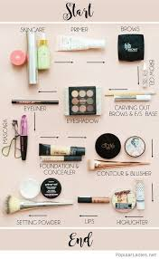 awesome makeup steps tutorial