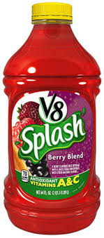 v8 splash is artificially flavored
