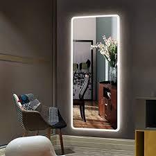 large rectangular bathroom mirror