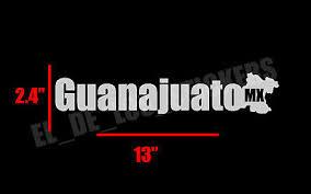 Car Truck Graphics Decals Guanajuato Decal Sticker Front Back Window 23 Mexico Mexicano Ciudad Emblema Auto Parts And Vehicles Thinkdigitalcampus Com Au