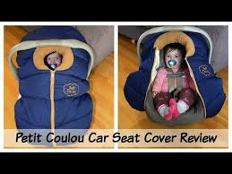 best winter car seat cover petit
