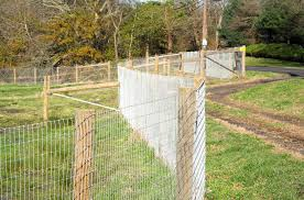 Woven Wire Horse Fence Traditional Landscape Newark By Ak Fencing