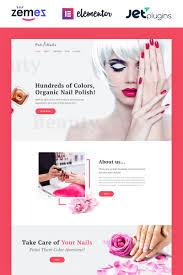 nail salon wordpress theme
