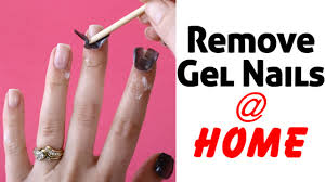 remove gel nails at home with acetone