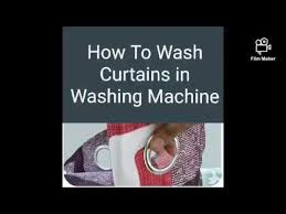 how to wash curtain with rings eyelets