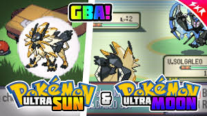 Download Pokemon Ultra Sun and Ultra Moon For GBA   With Ultra Solgaleo &  Ultra Lunala + Download - YouTube