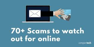 70 mon scams used by cyber