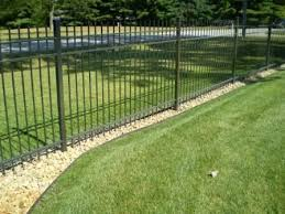 12 Channel Guard Fence Edging Landscaping Along Fence Building A Raised Garden Fence Landscaping