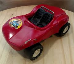 Colelctible Tonka Red Conertible Dune Buggy Baja Racer Tonka Pressed Metal Toy Car Collectible Toy Cake Topper Best Gift Idea F670