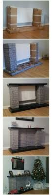 38 best cardboard fireplace images