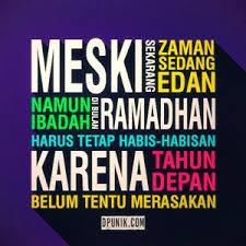 semangat puasa ramadhan kutipan kutipan agama spanduk