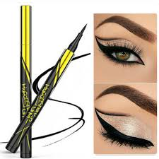 black brown eye makeup eyeliner liquid