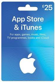 itunes gift card uk 25 from