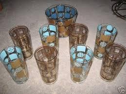 vintage georges briard glasses w ice
