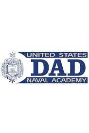 Usna Dad Decal Annapolis Gear