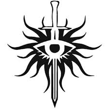 Dragon Age Templar Vinyl Decal Sticker