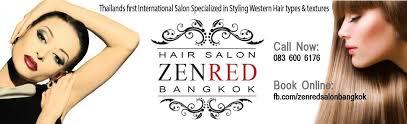 zenred hair salon bangkok thailand