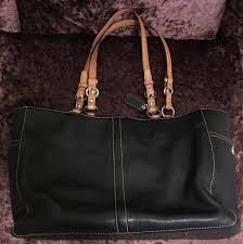 chelsea black pebbled leather tote