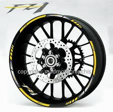 fz1 motorcycle bike wheel decals rim