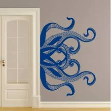 Kraken Wall Decal Wayfair