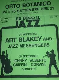 170 – MUSIC INN presenta: Ed ecco il Jazz – ORTO BOTANICO, 24 e 25  Settembre 1987 – Jazz Expo