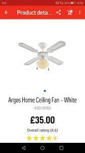 ceiling fan light in hull east