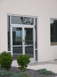 commercial entry doors and glass