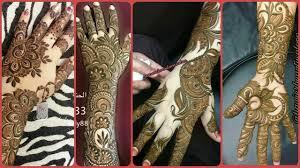 khafif mehndi design back hand