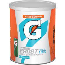 gatorade thirst quencher powder frost