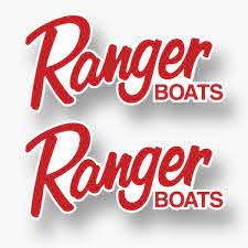 2x Ranger Boats Vinyl Sticker Decal Fishing Boat Sponsor Bass Boats Competition Ebay