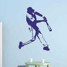 Style And Apply Baseball Batter Wall Decal Wayfair