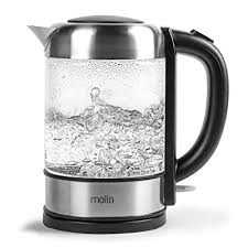 cordless glass electric water kettle
