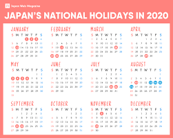 Japanese National Holidays in 2020 ...