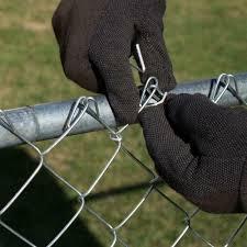 Yardgard 6 1 2 In 11 Gauge Aluminum Chain Link Fence Ties 30 Pack