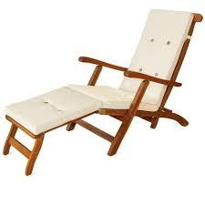 sun lounger recliner steamer chair