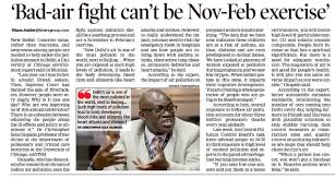 Bad-air fight can't be Nov-Feb exercise: Sola Olopade | Center in Delhi |  The University of Chicago