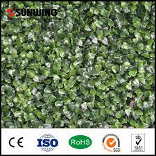China Outdoor Wall Hedge Artificial Green Fence China Fencing And Fence Price